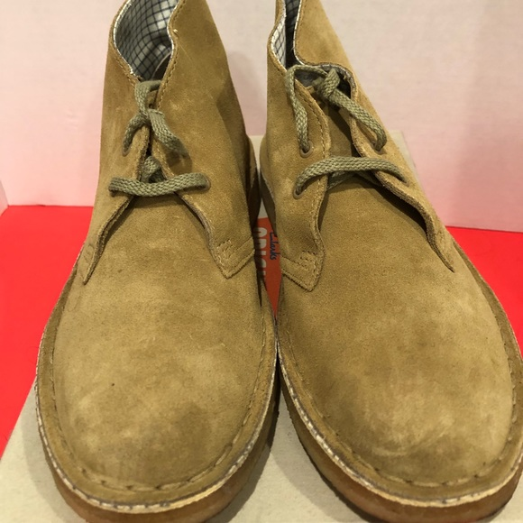 clarks originals desert boot oakwood suede